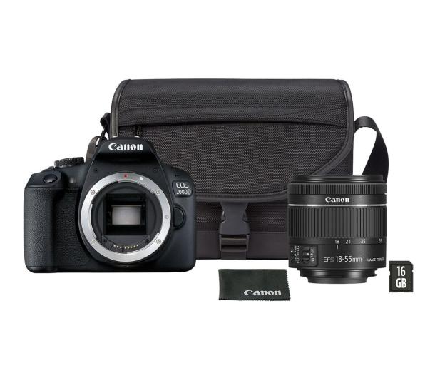 Canon EOS 2000D 18-55 IS VUK - 449561 - zdjęcie