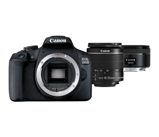 Canon EOS 2000D 18-55mm IS + 50mm f/1,8S - 449583 - zdjęcie
