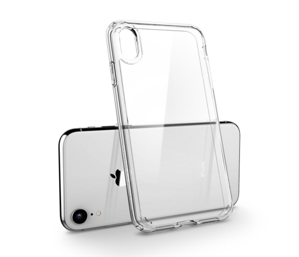 Spigen Ultra Hybrid do iPhone XR Crystal Clear - 452160 - zdjęcie 4