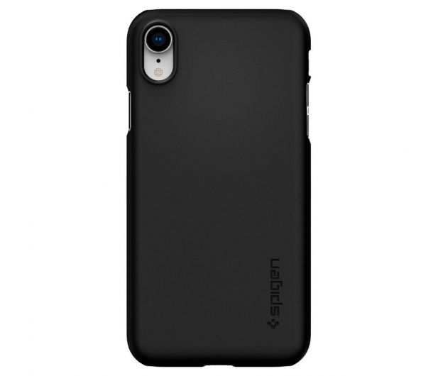 Spigen Thin Fit Case do iPhone XR Black - 452152 - zdjęcie 2