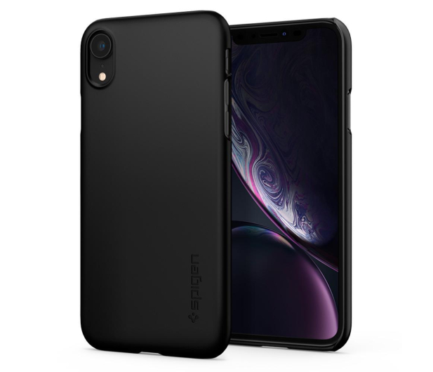 Spigen Thin Fit Case do iPhone XR Black - 452152 - zdjęcie