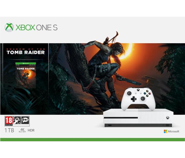 Microsoft Xbox One S 1TB SOTTR+Disneyland Adventures+GOW - 499797 - zdjęcie 3