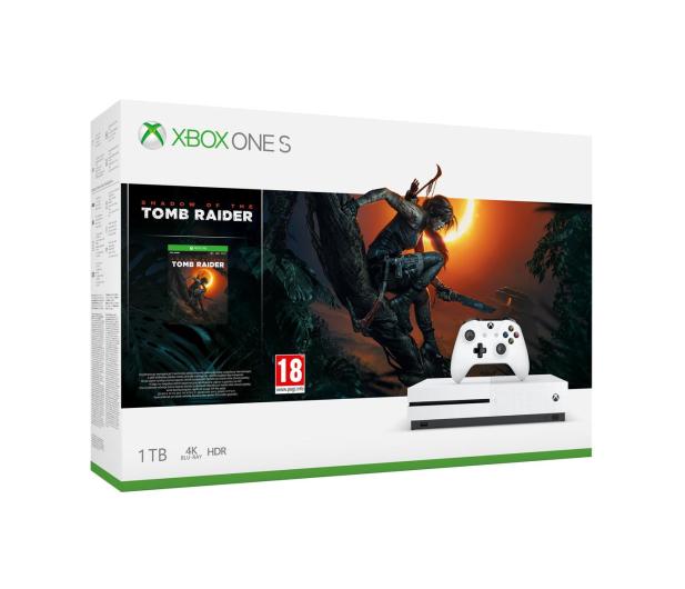 Microsoft Xbox One S 1TB SOTTR+Disneyland Adventures+GOW - 499797 - zdjęcie 2