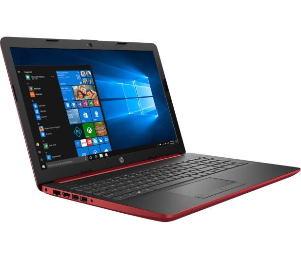 HP 15 i5-8250U/4GB/120+1TB/W10/FHD Red  - 456545 - zdjęcie 3