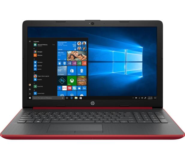 HP 15 i5-8250U/4GB/120+1TB/W10/FHD Red  - 456545 - zdjęcie 2