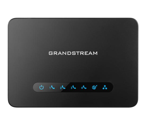 Grandstream HT 814 (2x10/100/1000Mbit 4xFXS 4xSIP)  - 446078 - zdjęcie 2