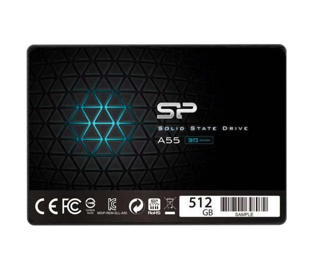 """Silicon Power 512GB 2,5"""" SATA SSD A55  - 446346 - zdjęcie"""