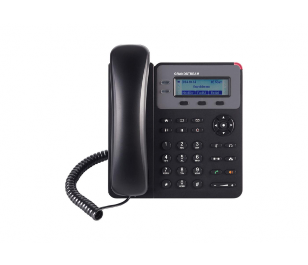Grandstream GXP 1615 VoIP (2-linie 2x10/100Mbps 1xSIP) PoE  - 446093 - zdjęcie