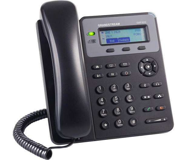 Grandstream GXP 1610 VoIP (2-linie 2x10/100Mbps 1xSIP) - 446109 - zdjęcie 2
