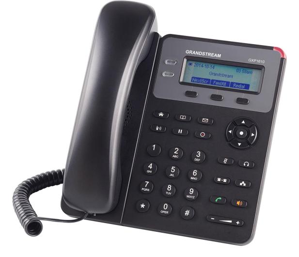 Grandstream GXP 1610 VoIP (2-linie 2x10/100Mbps 1xSIP) - 446109 - zdjęcie 3