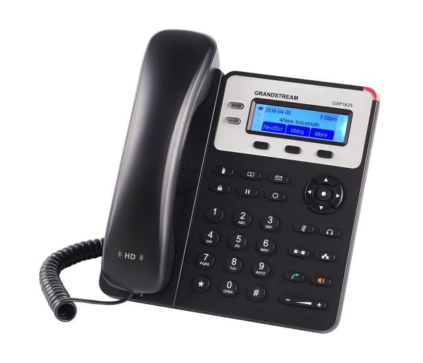 Grandstream GXP 1625 HD VoIP (3-linie 2x10/100Mbps 2xSIP) PoE  - 446096 - zdjęcie 3