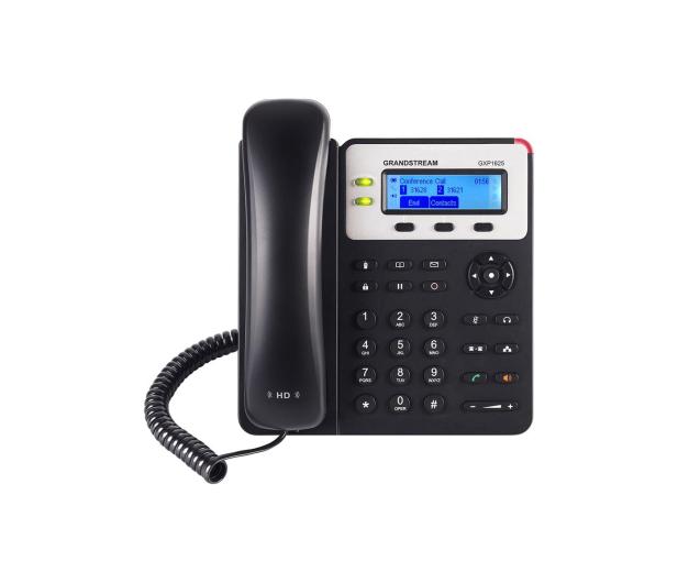 Grandstream GXP 1625 HD VoIP (3-linie 2x10/100Mbps 2xSIP) PoE  - 446096 - zdjęcie