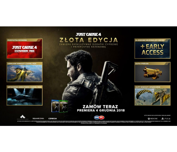 CENEGA Just Cause 4 Gold Edition - 446869 - zdjęcie 2