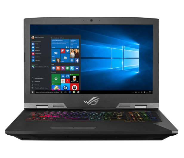 ASUS ROG G703 GRIFFIN i7-9750H/32GB/512+1TB/Win10P - 493004 - zdjęcie 3