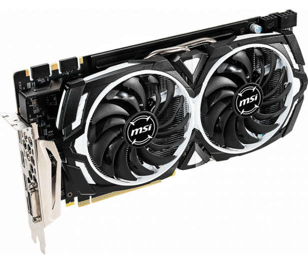 MSI GeForce GTX 1060 ARMOR 6GD5X OC GDDR5  - 473050 - zdjęcie 2