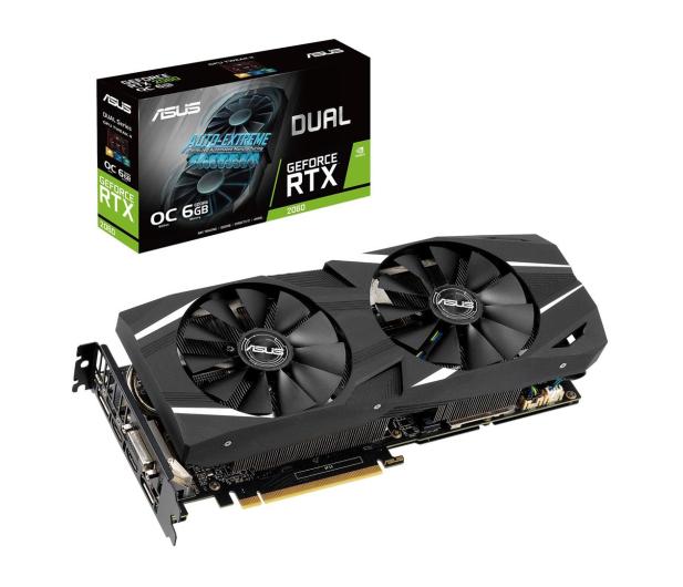 ASUS GeForce RTX 2060 DUAL OC 6GB GDDR6  - 472181 - zdjęcie