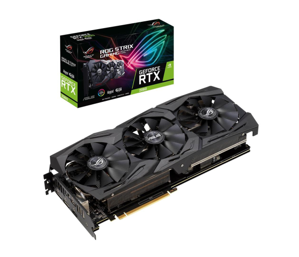 ASUS GeForce RTX 2060 ROG Strix Advance 6GB GDDR6  - 472179 - zdjęcie