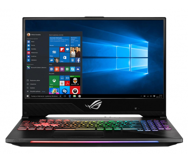 ASUS ROG Strix GL504GW i7-8750H/32GB/256/Win10X - 506239 - zdjęcie 2