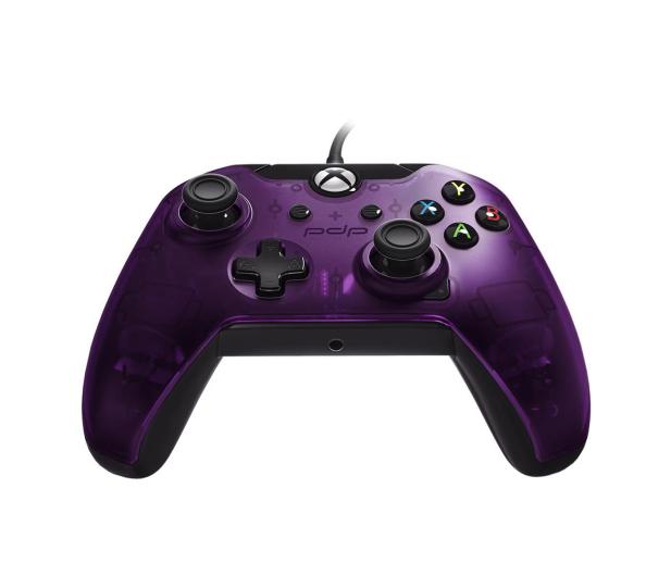 PDP Xbox One Controller - Purple (przewodowy)  - 472764 - zdjęcie