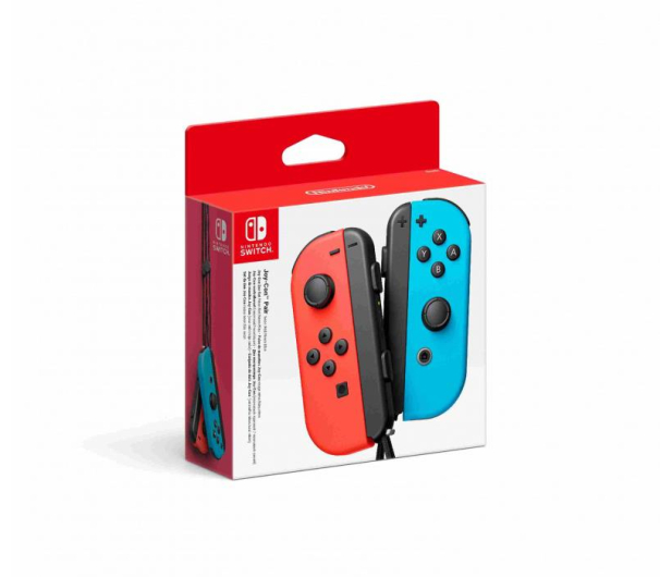 Nintendo Switch Joy-Con Controller - Neon Red/Blue (pair) - 468355 - zdjęcie 4