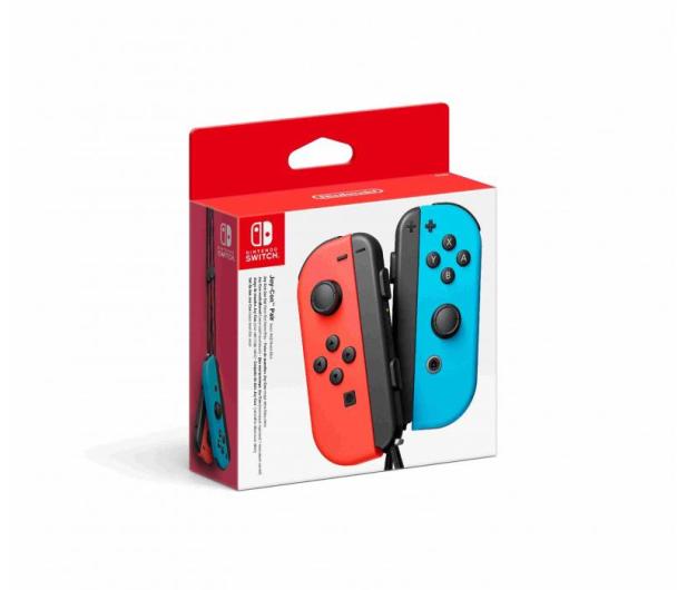 Nintendo Joy-Con Para Neon Red/Neon Blue - 468355 - zdjęcie 4