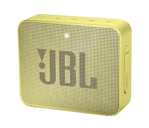 JBL GO 2 Żółty - 427975 - zdjęcie