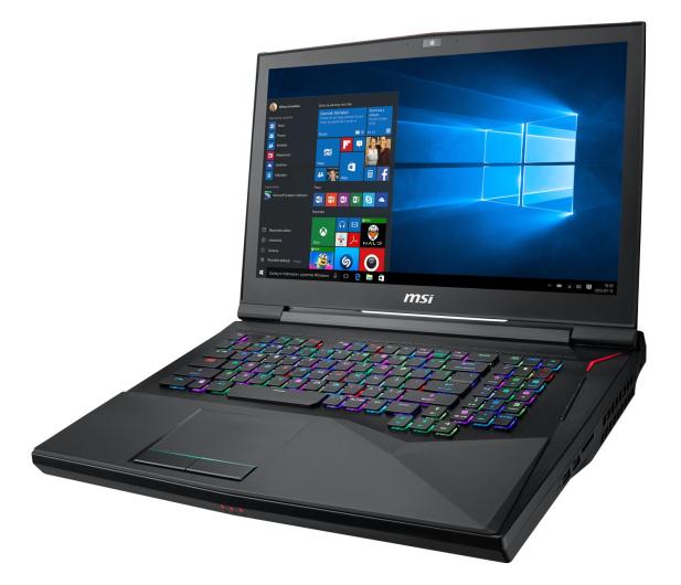 MSI GT75 i7-8750H/32GB/512+1TB/Win10 RTX2070 IPS - 473544 - zdjęcie 2
