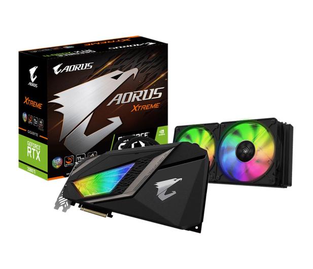 Gigabyte GeForce RTX 2080Ti XTREME WATERFORCE 11GB GDDR6  - 473312 - zdjęcie
