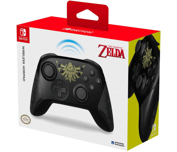 Hori SWITCH HORIPAD Wireless Zelda - Pro Controller - 473003 - zdjęcie 5