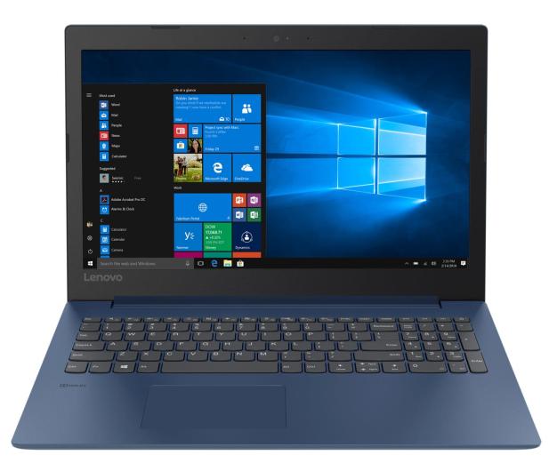 Lenovo Ideapad 330-15 i3-8130U/4GB/240/Win10 Blue  - 475507 - zdjęcie 2
