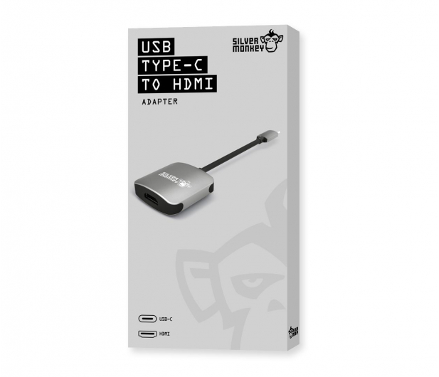 Silver Monkey Adapter USB-C do HDMI - 461266 - zdjęcie 5