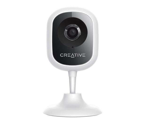 Creative Live! Cam IP HD 720P WiFi LED IR (dzień/noc)biała - 474438 - zdjęcie