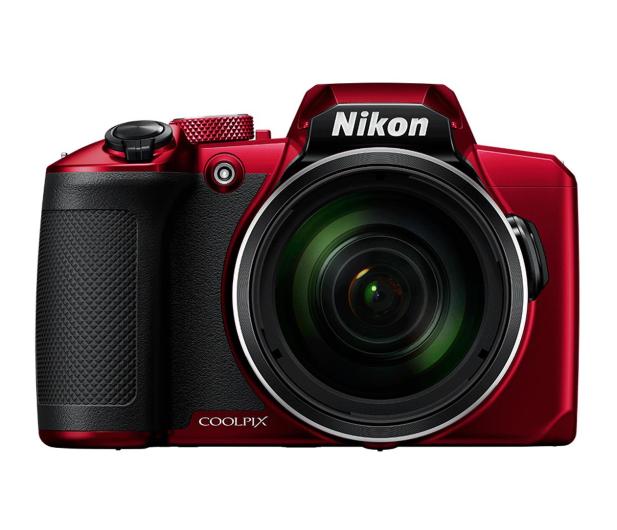 Nikon Coolpix B600 czerwony - 474126 - zdjęcie