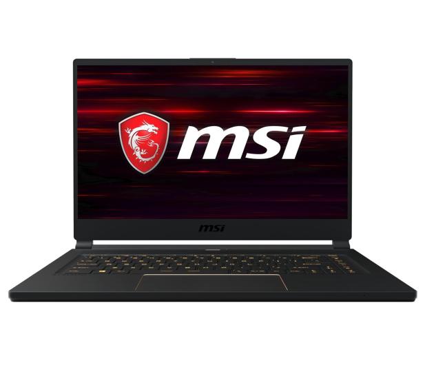 MSI GS65 i7-8750H/16GB/512/Win10 RTX2070 144Hz  - 474454 - zdjęcie 3