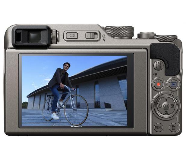Nikon Coolpix A1000 srebrny - 474123 - zdjęcie 3