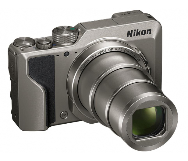 Nikon Coolpix A1000 srebrny - 474123 - zdjęcie 2