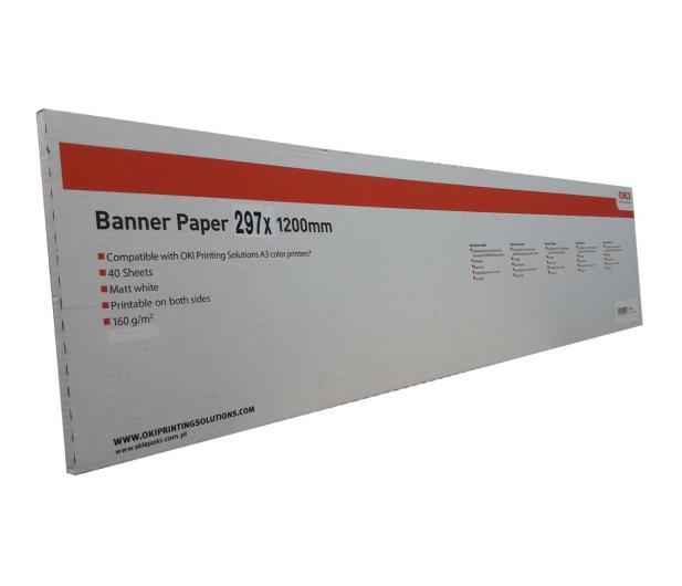 OKI Papier Banerowy A3 - 473793 - zdjęcie