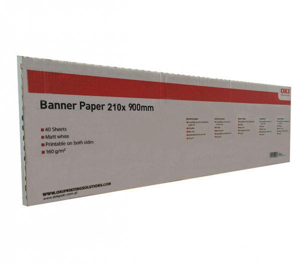 OKI Papier Banerowy A4 - 473792 - zdjęcie