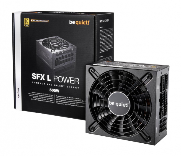 be quiet! SFX-L POWER 500W 80 Plus Gold - 471682 - zdjęcie