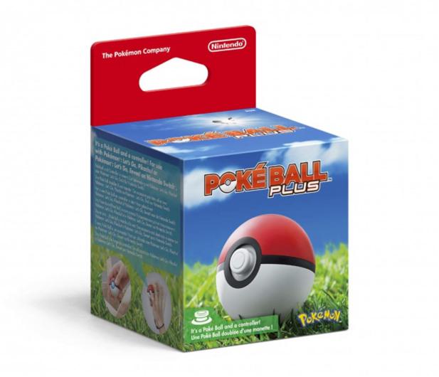 Nintendo Pokéball Plus - 447388 - zdjęcie
