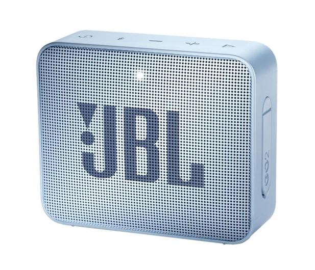 JBL GO 2 Błękitny - 427914 - zdjęcie