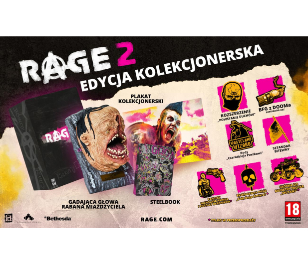 PC Rage 2 Collector's Edtion - 439848 - zdjęcie 2