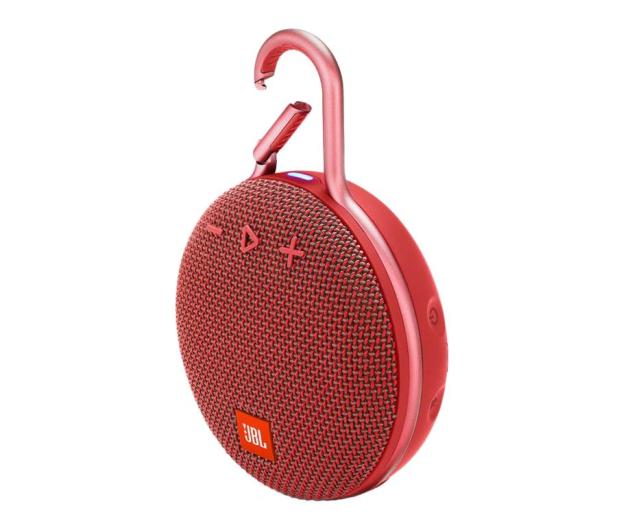 JBL Clip 3 Czerwony - 442527 - zdjęcie