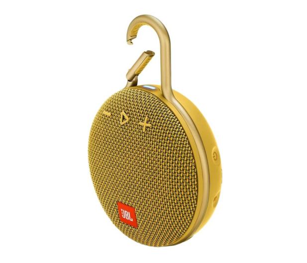 JBL Clip 3 Żółty - 442535 - zdjęcie