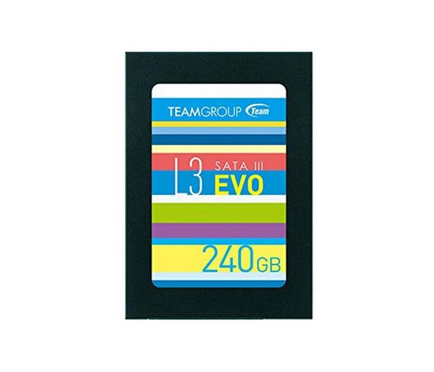 """Team Group 240GB 2,5"""" SATA SSD L3 EVO  - 474611 - zdjęcie"""