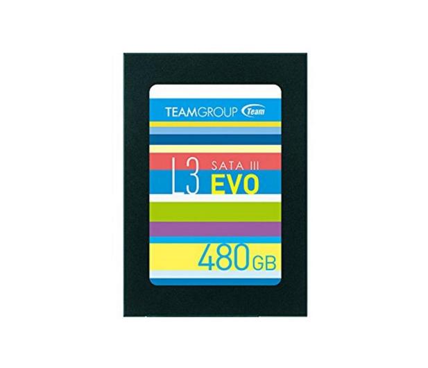 """Team Group 480GB 2,5"""" SATA SSD L3 EVO  - 474612 - zdjęcie"""