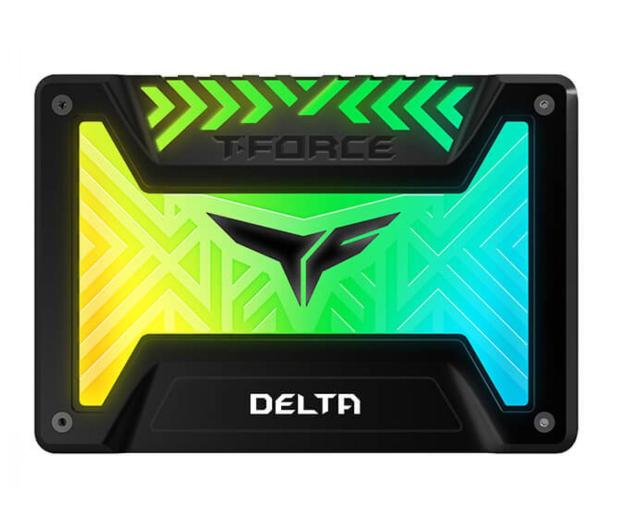 """Team Group 250GB 2,5"""" SATA SSD T-Force Delta RGB Black - 474613 - zdjęcie"""