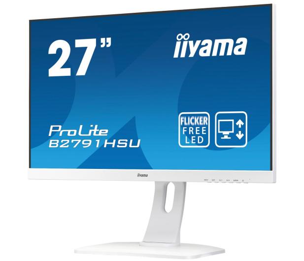 iiyama B2791HSU biały - 474788 - zdjęcie 2