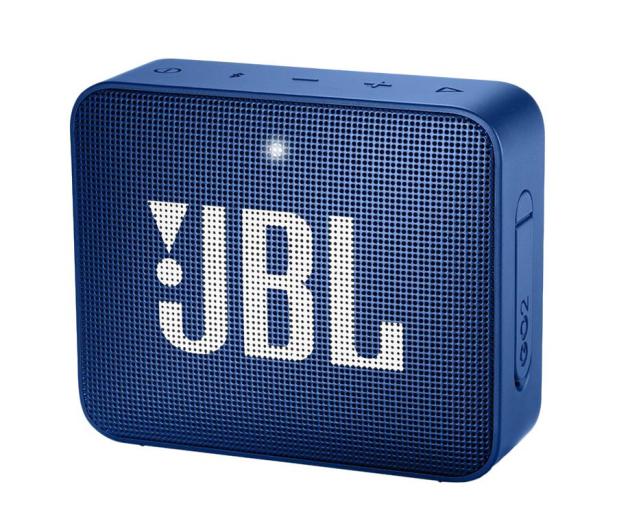 JBL GO 2 Niebieski - 427911 - zdjęcie