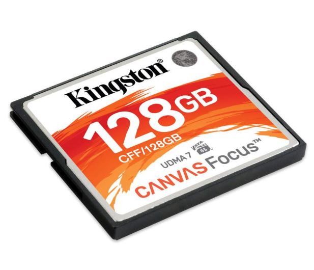Kingston 128GB Canvas Focus zapis :130MB/s odczyt :150MB/s - 475301 - zdjęcie 2